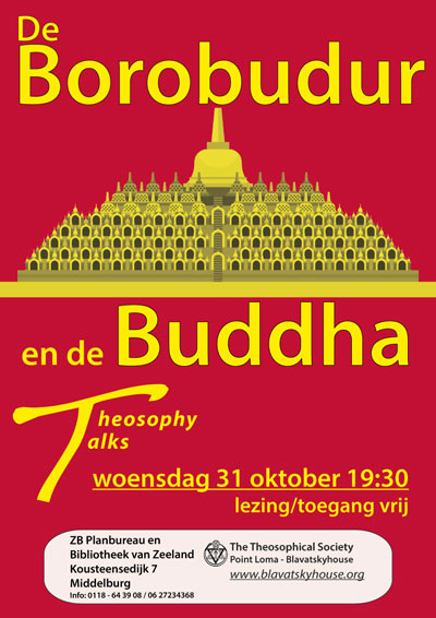 De Borobudur en de Buddha
